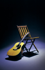 Chair & Guitar