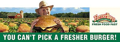 Farmer Boys Billboard